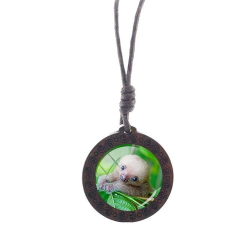 Image of Infant Sloth Necklace - Sloth Gift shop