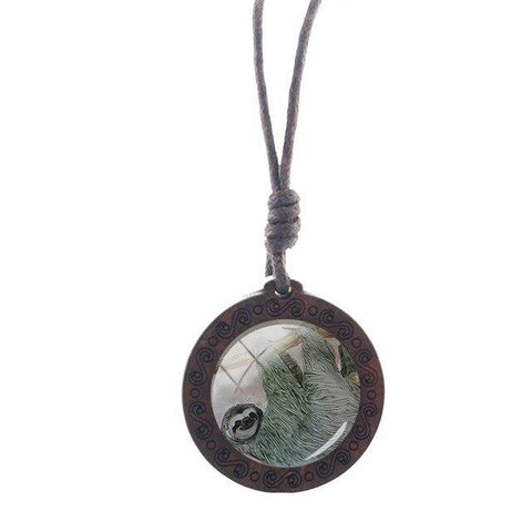Body Sloth Necklace - Sloth Gift shop