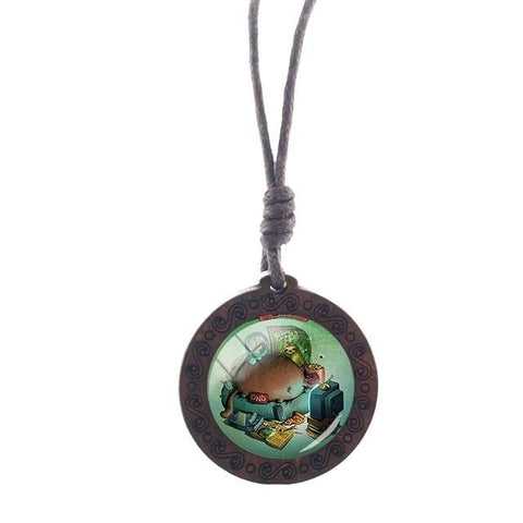 Image of Living Sloth Necklace - Sloth Gift shop