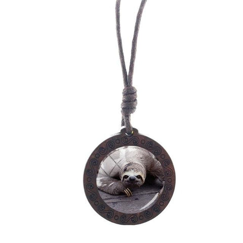Image of Fatty Sloth Necklace - Sloth Gift shop