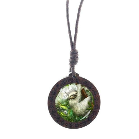 Image of Natures Sloth Necklace - Sloth Gift shop