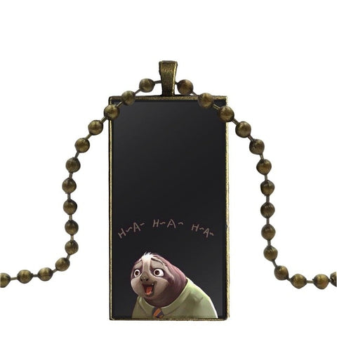Image of H-A-H-A Sloth Necklace - Sloth Gift shop