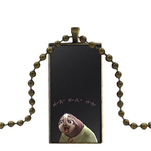 H-A-H-A Sloth Necklace - Sloth Gift shop