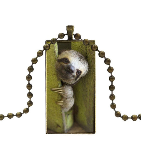 Image of Snick Necklace - Sloth Gift shop