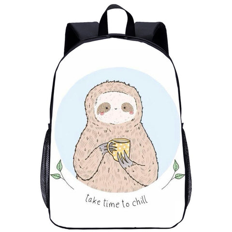 Mind Ease Sloth Travel Backpack