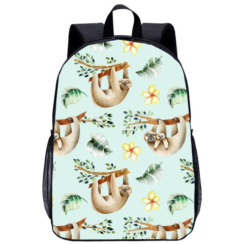 Summer Sloth Travel Backpack