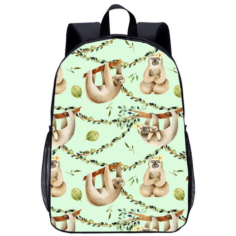 Perfect Family Sloth Travel Backpack