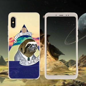 Live Die Xiaomi Redmi Case - Sloth Gift shop