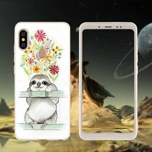 Flowers For You Xiaomi Redmi Case - Sloth Gift shop