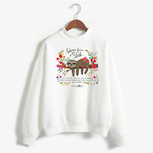 Advice from Sloth Sweatshirt - Sloth Gift shop