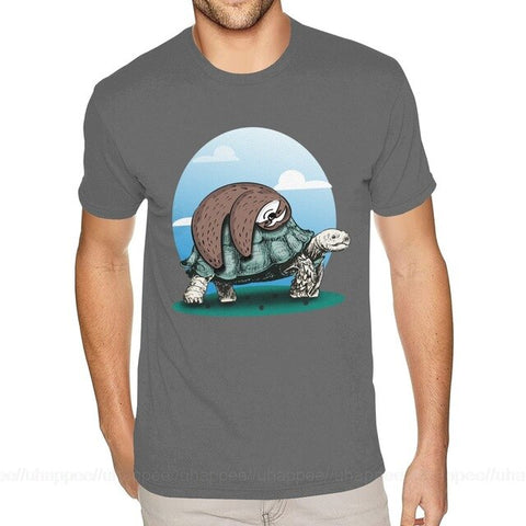 Sloth And Turtle T-shirt