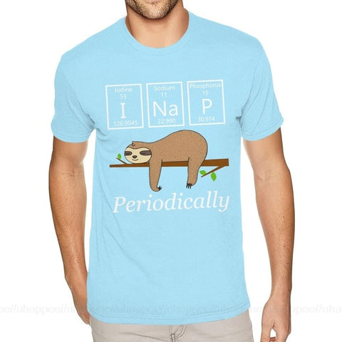 Scientist Sloth T-shirt