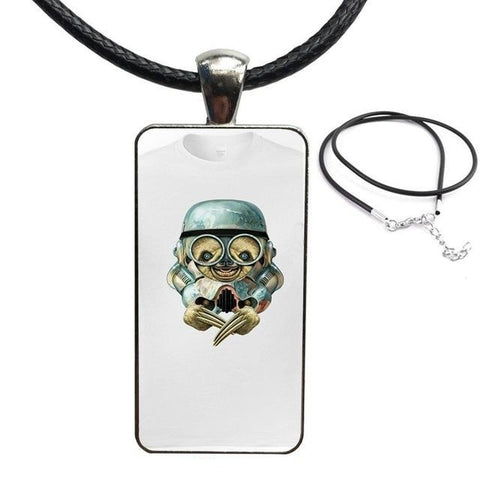 Robotic Sloth Necklace - Sloth Gift shop