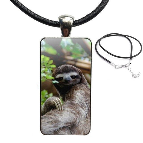 Don't Touch Me Necklace - Sloth Gift shop