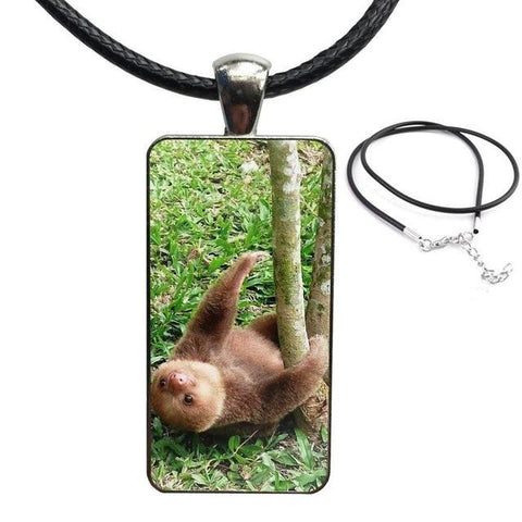 I Wanna Cuddle Necklace - Sloth Gift shop