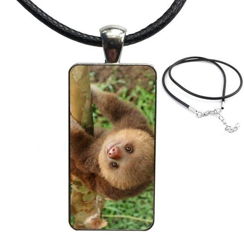 Sloth Baby Look Necklace - Sloth Gift shop