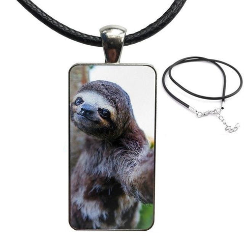 Give Me Your Hand Necklace - Sloth Gift shop