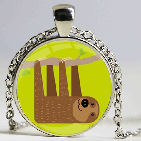 Cartoon Sloth Necklace - Sloth Gift shop