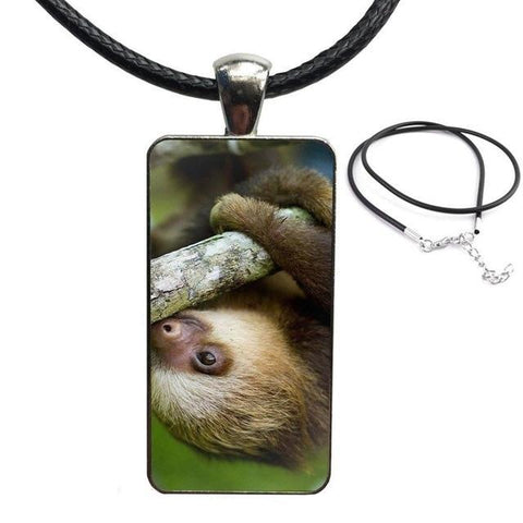 Hold On Sloth Necklace - Sloth Gift shop