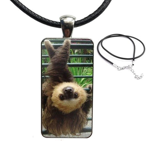 X Legs Sloth Necklace - Sloth Gift shop