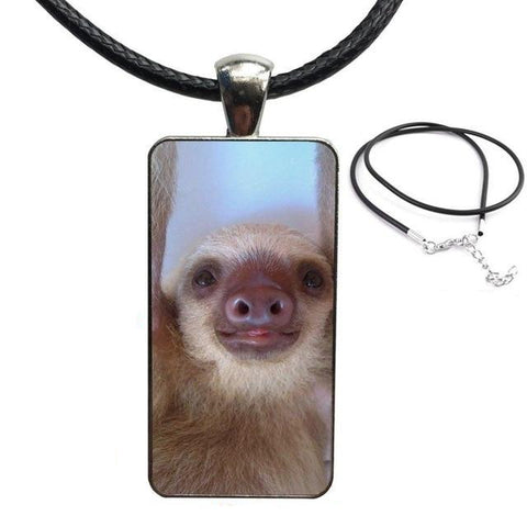 Silly Sloth Necklace - Sloth Gift shop