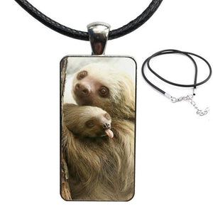 Tongue Out Necklace - Sloth Gift shop