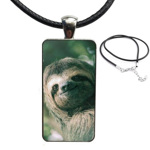 Mister Sloth Necklace - Sloth Gift shop