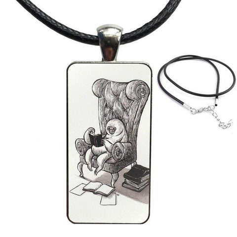 Old Age Sloth Necklace - Sloth Gift shop