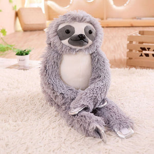Sweet Furry Sloth Toy