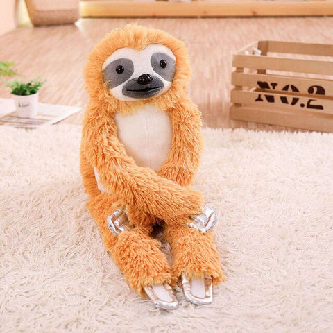 Image of Sweet Furry Sloth Toy