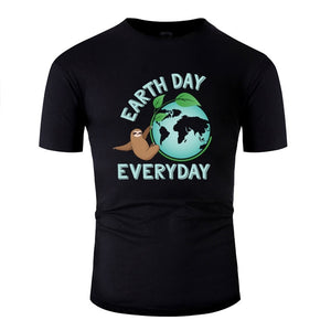 Earth Day Everyday Sloth T-shirt