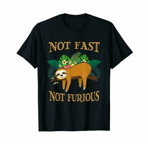 Image of No Fast Not Furious T-shirt