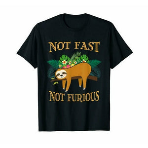 No Fast Not Furious T-shirt