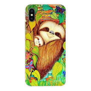 Mother Sloth and Baby Sloth LG Case