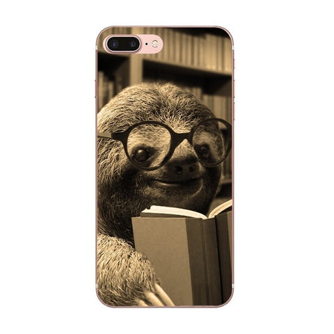 Book Worm Sloth LG Case