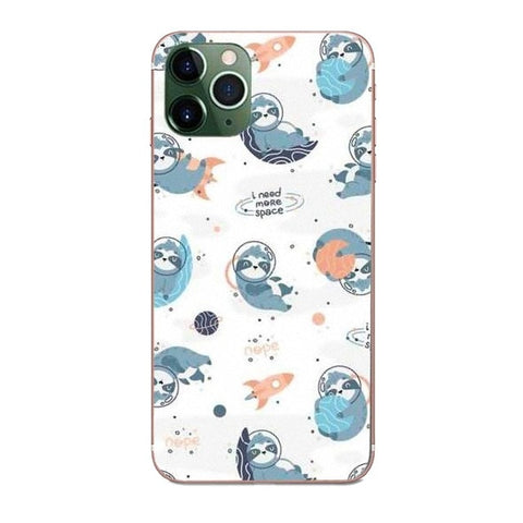 Outer Space Sloth LG Case