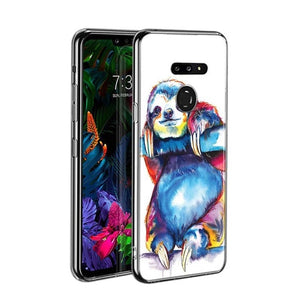 Blue Red Sloth LG Case