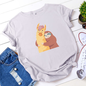 Alpaca Sloth T-shirt