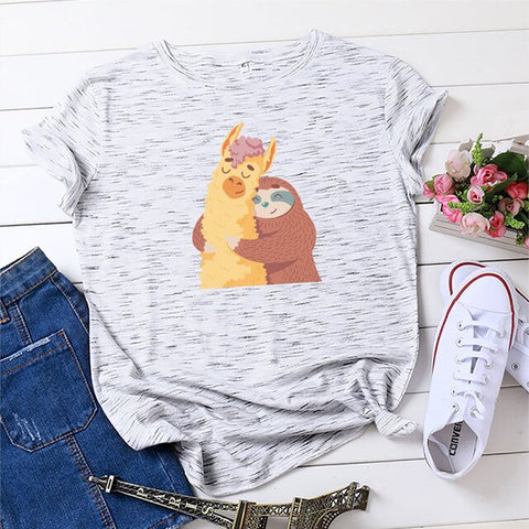 Image of Alpaca Sloth T-shirt