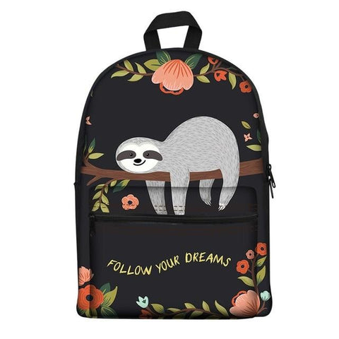 Dreamer Sloth Travel Backpack
