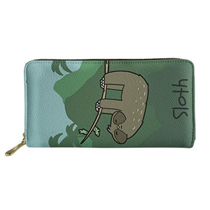 Funny Sloth Purse / Wallet