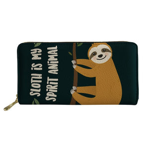 Spirit Animal Sloth Purse / Wallet