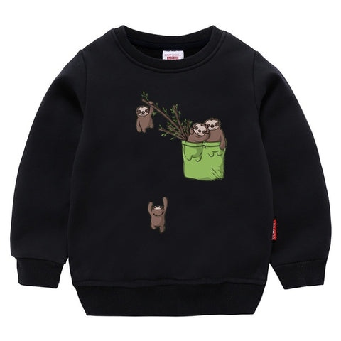 Sloth FIshing Sweatshirt