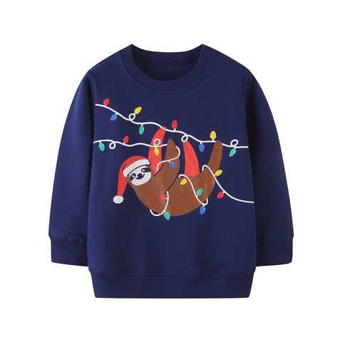 Xmas Light All Over Sweatshirt