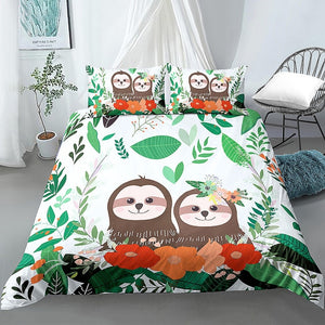 Lovely Couple Bedding Set