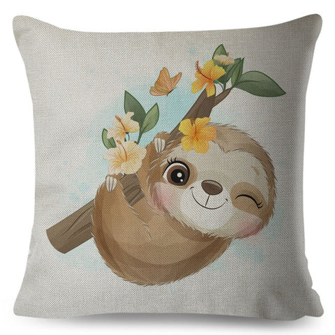 WInk From Sloth Cushion Cover