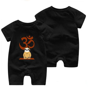 Meditate Time Sloth Romper