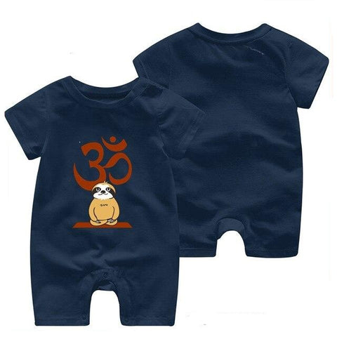 Image of Meditate Time Sloth Romper