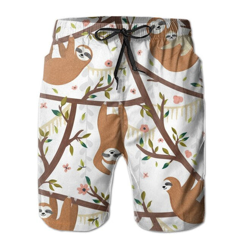 Lovely Sloth Boardshort
