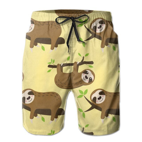Moody Sloth Boardshort